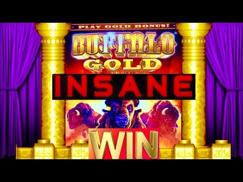 ★JACKPOT HANDPAY★BUFFALO GOLD SLOT★HUGE WIN!! ITS AMAZING!! INSANE RETRIGGER! FOUR WINDS CASINO!