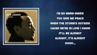 John Legend - Refuge When It's Cold Outside (Lyrics)