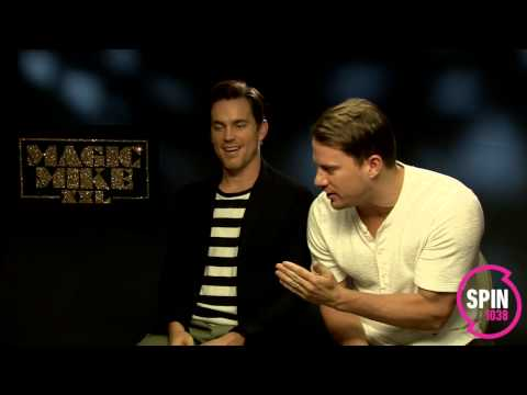 Channing Tatum & Matt Bomer (MAGIC MIKE XXL) on Plan B