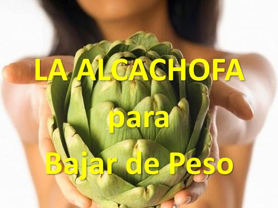 AGUA DE ALCACHOFA - SOBREPESO, ADELGAZA, DIETAS