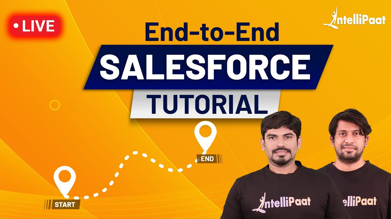 Salesforce Tutorial | Learn Salesforce | Salesforce CRM Tutorial for Beginners