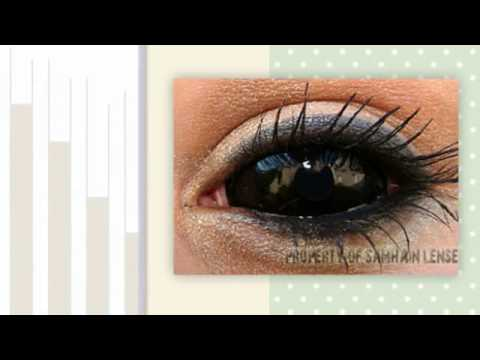 Colored Contacts for Dark Skin People - TheFastFashion.com |Blue Contacts On Black People