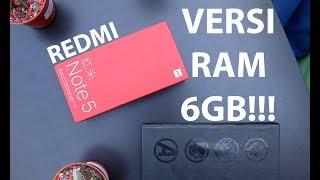 Xiaomi Redmi Note 5 RAM 6GB, Unboxing Pertama di Indonesia #PricebookBagiTHR