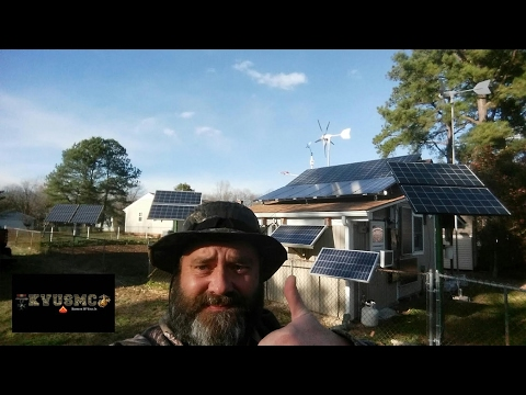 Super Solar PV And Wind Turbine Performance Power Day By KVUSMC
