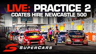 LIVE: Practice 2 - Coates Hire Newcastle 500 | Supercars Championship 2019