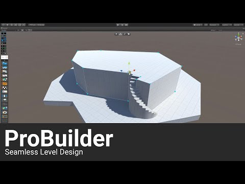 ProBuilder joins Unity offering integrated in-editor