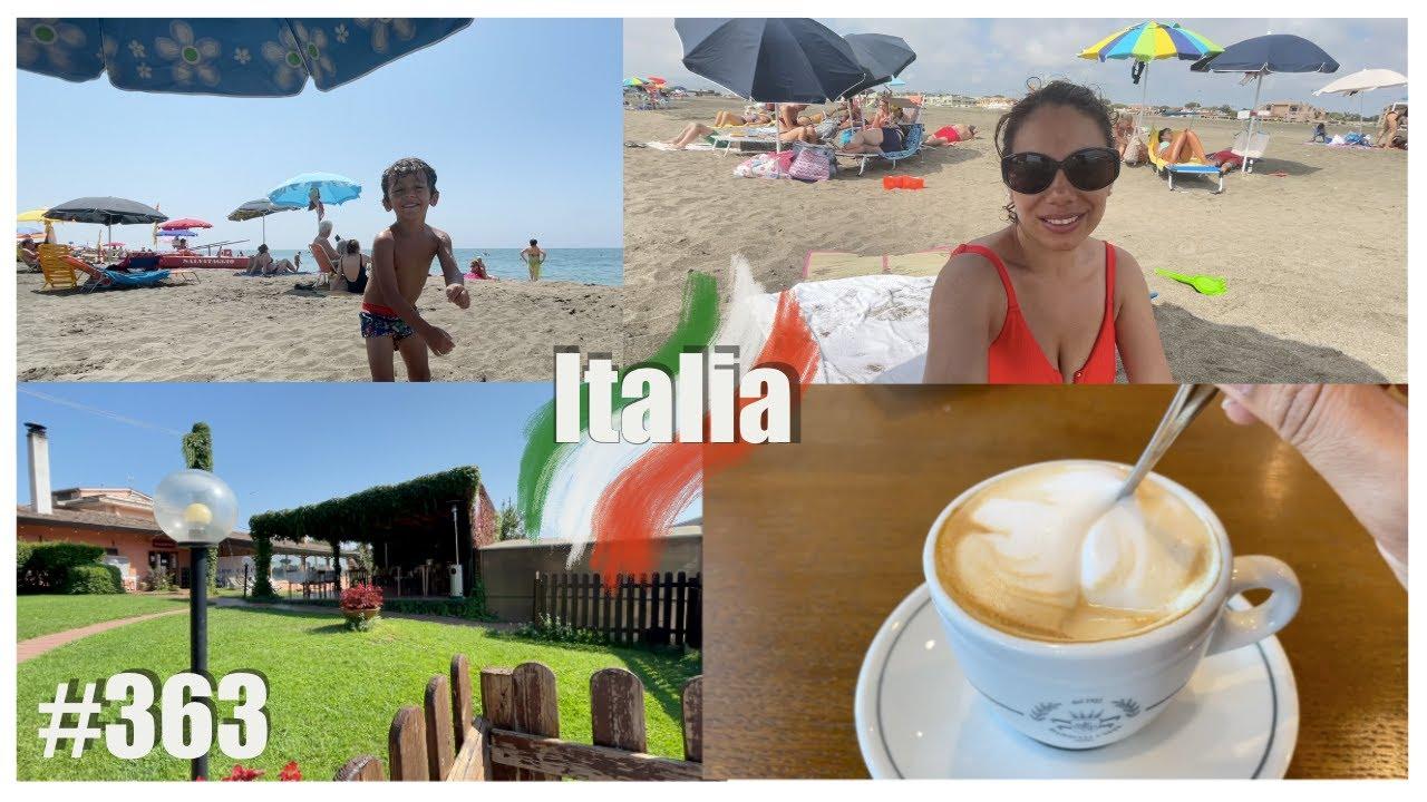 PLAYA PUBLICA EN ITALIA + HICE EL RIDICULO CON UN MILLONARIO 😱  / A N N A L I E