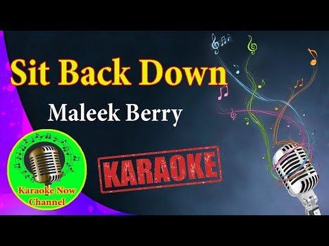 [Karaoke] Sit Back Down- Maleek Berry Not3s- Karaoke Now