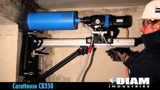 CAROTTEUSE Ø250MM MAX 220V vidéo