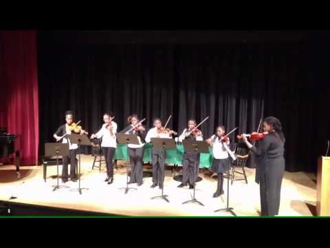 OAMEC Outreach Ensemble Perform at Lesley University