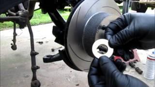 1968 Mustang disc brake conversion Part 1