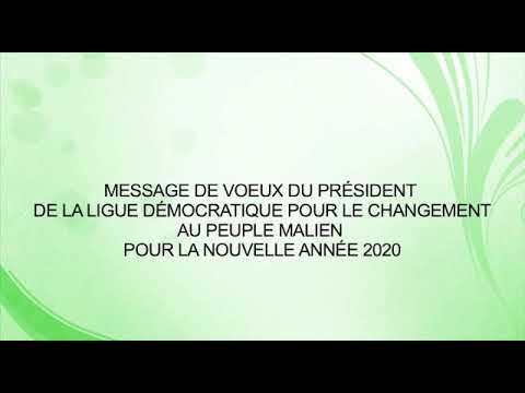 Moussa Sinko Coulibaly Présente Ses Vœux De Nouvel An 2020 Aux Maliens