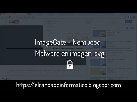 ImageGate - Nemucod   Malware en imagen .svg   DEMO