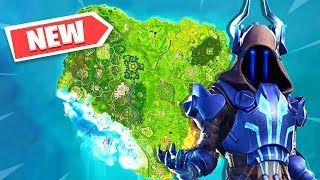 TEMPORADA secreta 7 mudanças no mapa no FORTNITE BATTLE ROYALE! BOSQUE GORDUROSO ENCONTRADO!