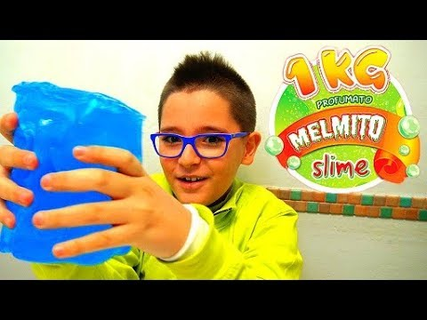 UN KG DI SLIME! INCREDIBILE! MELMITO SLIME - Leo Toys