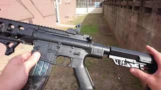 LUOCHEN М4 АР-15 ларі бластер огляд - Ренегат бластери наступного покоління іграшкові пістолети