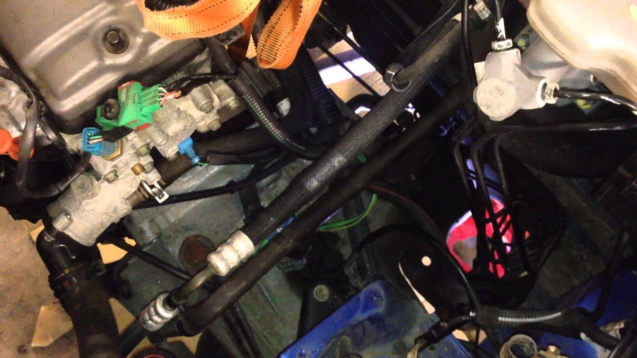 Peugeot 106 Clutch Change Youtube Fuel Pressure Diagram