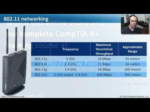 Wireless Networking - Part 1 of 3 - CompTIA A+ 220-701: 4.3