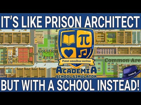 LET'S PLAY ACADEMIA SCHOOL SIMULATOR - School Architect And Management Game - Academia Gameplay