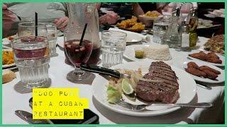 Sam Thom || FOOD PORN AT A CUBAN RESTAURANT