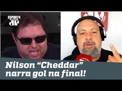 """Porpetone é HILÁRIO! Nilson """"Cheddar"""" narra gol na final do Paulistão!"""
