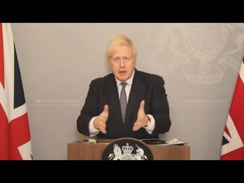 Boris Johnson issues Christmas warning: 'Tis the season to be jolly careful'