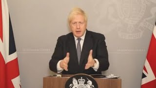 video: 'Tis the season to be jolly careful,' Boris Johnson warns as he reveals new Covid measures