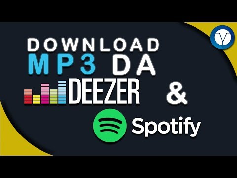 Come scaricare la Musica da Spotify e Deezer OFFLINE - Con Metadati - Android