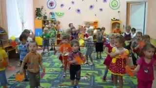 Зарядка для детей под музыку. Листик, листик, листопад(Песня «ЛИСТОПАД» муз.Светланы Ранда., 2013-10-17T11:37:18.000Z)