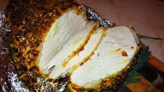 Карбонад свиной  в духовке в фольге