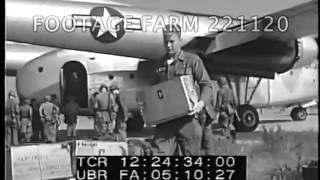 1958 - Army Airlift Arrival, Beirut, Lebanon 221120-07