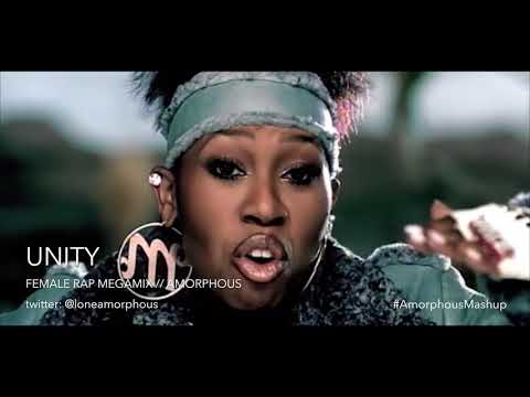 UNITY - Female Rap Megamix | Nicki Minaj, Lil' Kim, Azealia Banks, Missy Elliott + More