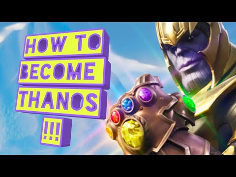 How to become Thanos in real life overlukk