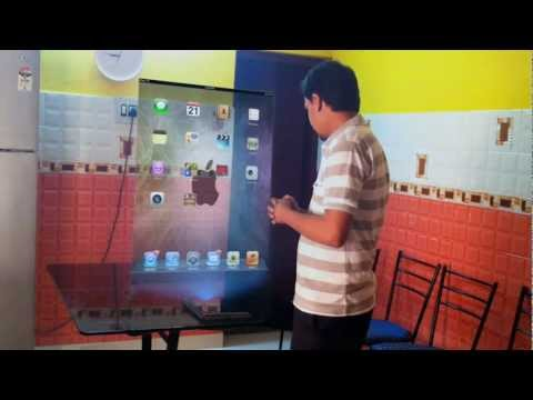 iPad 2 Hologram