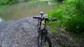 Прогулка на велосипеде по лесу, покатушки. ( Г. Новопавловск)