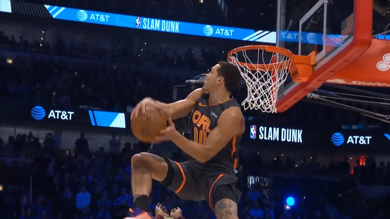 Aaron Gordon 2nd Dunk 1st Round | 2020 NBA Slam Dunk Contest