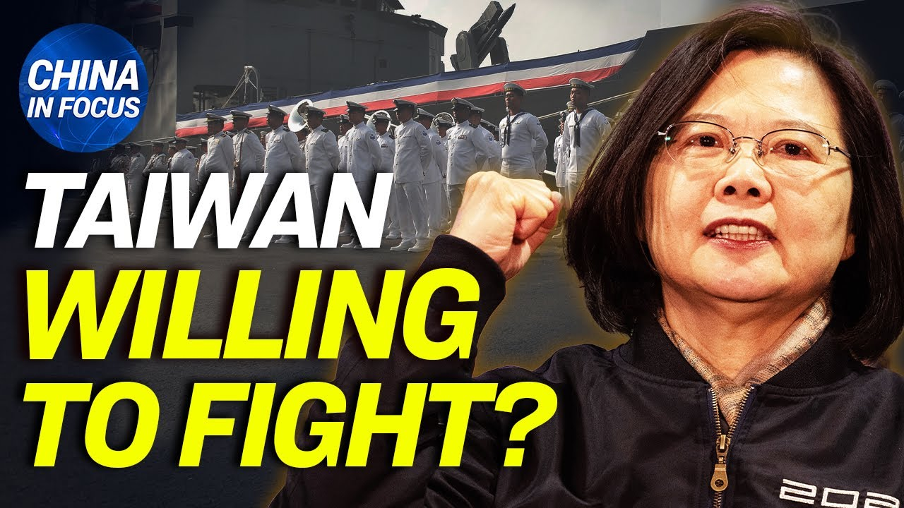 Poll reveals shocking % of Taiwanese willing to fight against China; Wuhan hitting headline again