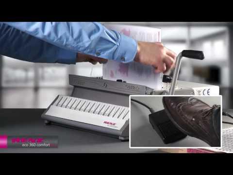 RENZ eco 360 comfort plus elektrisches 2:1 Drahtbindegerät