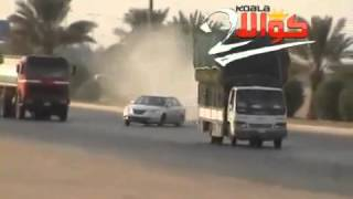 Crazy driving in Saudi Arabia