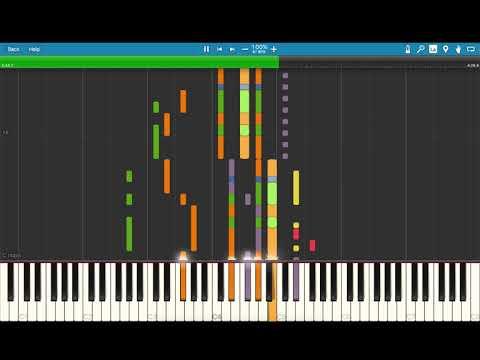 J. Balvin - Ay Vamos [Piano Tutorial] (Synthesia)