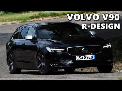 Volvo V90 R-Design - Handsome Estate - YouTube