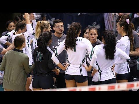 Rainbow Wahine Volleyball 2017 - Hawaii Vs UCSB