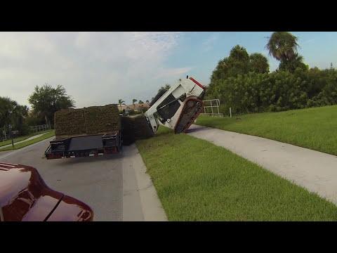 Bobcat  Track Loader Fail, Rookie Move