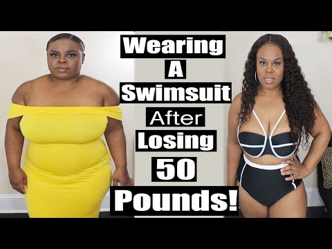 Wearing A Swimsuit After I Lost 50 Pounds (Weight Loss Before and After Pictures) | Lovelywholesale