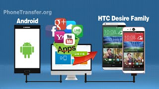 How to Install Apps from old Android Phone to HTC Desire Eye, Import Apps to Desire 820/826