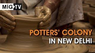 Potters' Colony in New Delhi
