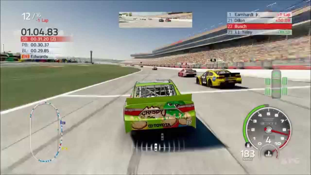 NASCAR 15 2016 Season Update on Xbox 360