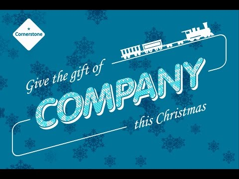 Give the Gift of Company this Christmas