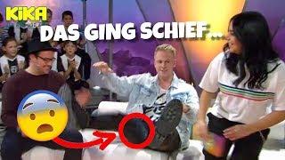 Live in TV Sendung BLAMIERT...! 😰 Als ich mich setzte... II RayFox