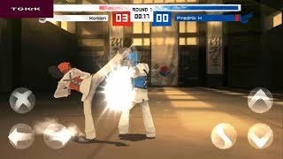 The Taekwondo Global Tournament : Solo : Dojang [Android Game]  Youtube